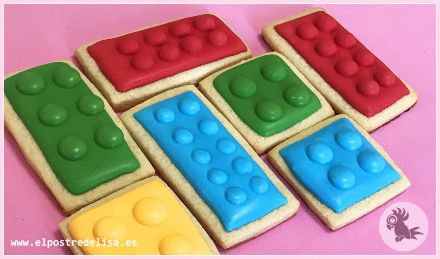 Galletas decoradas LEGO