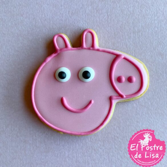 Galletas Decoradas de Peppa Pig