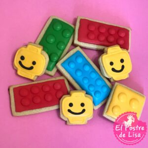 Galletas Decoradas de Lego