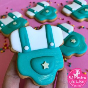 Galletas Decoradas de Bautizo