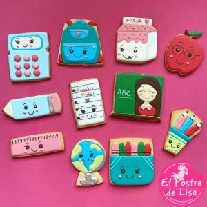 Set Galletas Decoradas Profesores