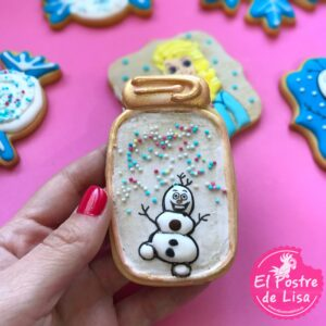 Galletas Decoradas de Frozen