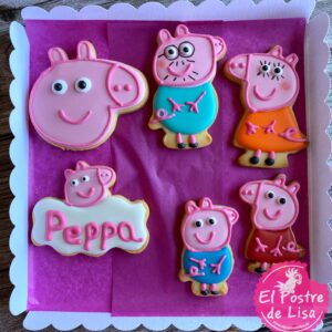 Galletas Decoradas Peppa pig